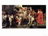 The Coronation of Marie de Medici at St. Denis, 13th May 1610, 1621-25 Giclee Print by Peter Paul Rubens
