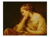 Melancholy Giclee Print by Louis Jean Francois I Lagrenee