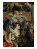 The Medici Cycle: the Coronation of Marie de Medici at St. Denis Giclee Print by Peter Paul Rubens