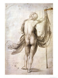 Nude Study Or, Nude Female from the Back, 1495 Giclee Print by Albrecht Dürer