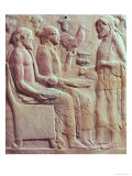 Plaque Depicting an Offering, circa 450 BC Giclee Print
