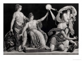 Liberty Armed with the Sceptre of Reason Striking Down Ignorance and Fanaticism, 1793 Premium Giclee Print by Simon Louis Boizot