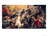 The Apotheosis of Henri IV and the Proclamation of the Regency of Marie de Medici, 1622-25 Giclee Print by Peter Paul Rubens
