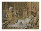 Odalisque with a Slave, 1858 Giclee Print by Jean-Auguste-Dominique Ingres
