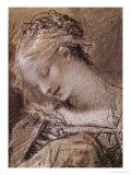 Head of the Virgin Giclee Print by Pierre-Paul Prud'hon