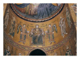 Madonna and Child Enthroned with Angels and Apostles, from the Central Apse Giclee Print