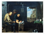 The Surgeon, 1638 Giclee Print by David Ryckaert III