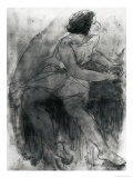 Isadora Duncan Giclee Print by Auguste Rodin