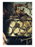 The Devil Attacking the Window, Detail from St. Anthony the Hermit from the Isenheim Altarpiece Giclee Print by Matthias Grünewald