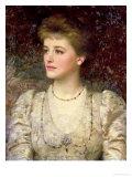 Lady Palmer Giclee Print by Frank Bernard Dicksee