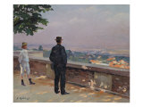 Paris from the Observatory at Meudon Giclee Print by Jules Ernest Renoux