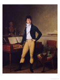 Francois Adrien Boieldieu 1800 Giclee Print by Louis Leopold Boilly