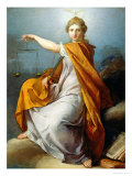 Justice Reproduction proc&#233;d&#233; gicl&#233;e par Pierre Subleyras