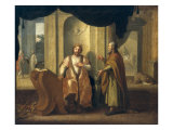 David and Nathan, 1672 Giclee Print by Matthias Scheits