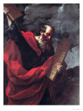 Moses with the Tablets of the Law Giclee Print by Guido Reni