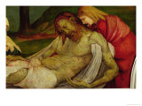 The Entombment from the Isenheim Altarpiece, circa 1512-16 Giclee Print by Matthias Grünewald