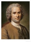 Jean-Jacques Rousseau after 1753 Giclee Print by Maurice Quentin de La Tour