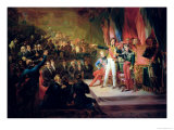 The Swearing-In of Louis-Philippe 9th August 1830 Giclee Print by Felix Auvray