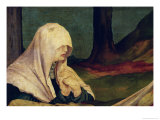 Virgin at the Entombment from the Isenheim Altarpiece, circa 1512-16 Giclee Print by Matthias Grünewald