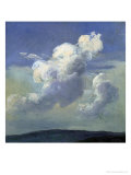 Cloud Study, 1832 Giclee Print by Johan Christian Clausen Dahl