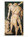 Hercules and Antaeus, circa 1530 Giclee Print by Hans Baldung Grien