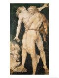 Hercules and Antaeus, circa 1530 Giclee Print by Hans Baldung Grien