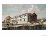 View of the Opera House in Berlin, 1773 Giclee Print by Johann Georg Rosenberg