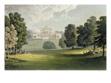"Stoke Park, from Ackermann's ""Repository of Arts"", Published circa 1826 Giclee Print by John Gendall"