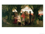 A Greek Festival Giclee Print by Thomas Ralph Spence