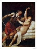 The Rape of Lucretia Giclee Print by  Titian (Tiziano Vecelli)