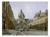 The Courtyard of the Old Sorbonne, 1886 Giclee Print by Emmanuel Lansyer