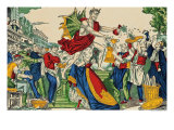 Caricature of the Demon of Money, 1860 Giclee Print