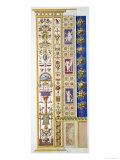 "Panel from the Raphael Loggia at the Vatican, from ""Delle Loggie Di Rafaele Nel Vaticano"" Giclee Print by G. Savorelli"