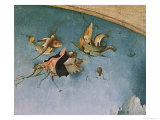 Detail of the Left-Hand Panel, from the Triptych of the Temptation of St. Anthony Giclee Print by Hieronymus Bosch