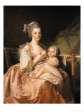 The Young Mother, circa 1770-80 Giclee Print by Jean Laurent Mosnier