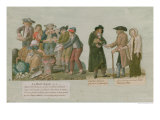 The Bread Famine and the Pawnbroker Giclee Print by Le Sueur Brothers
