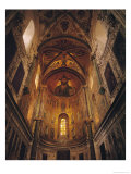 Apse with Christ Pantocrator and the Virgin at Prayer Surrounded by Archangels and Apostles, 1148 Giclee Print