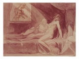 The Nightmare Leaving Two Sleeping Women, 1810 Giclee Print by Henry Fuseli
