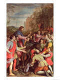 The Entry of Christ into Jerusalem Giclee Print by Santi Di Tito