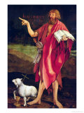 St. John the Baptist from the Isenheim Altarpiece, circa 1512-16 Giclee Print by Matthias Grünewald