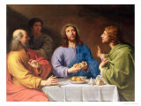 The Supper at Emmaus Giclee Print by Philippe De Champaigne