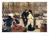 The Captain and the Mate, 1873 Giclee Print by James Tissot
