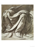 Study of Drapery Giclee Print by Leonardo da Vinci 