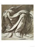 Study of Drapery Giclee Print by  Leonardo da Vinci