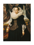 Portrait of a Young Dutch Woman Giclee Print by Thomas de Keyser