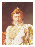 Napoleon I in Coronation Robes, circa 1804 Giclee Print by Francois Gerard