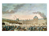 The 10th August 1792, 1792-93 Giclee Print by Charles Monnet