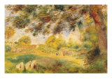 Spring Landscape Giclee Print by Pierre-Auguste Renoir