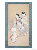 The Courtisan's Coiffure, circa 1700-14 Giclee Print by Ando Kaigetsudo