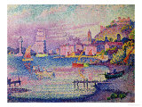 Leaving the Port of Saint-Tropez, 1902 Giclee Print by Paul Signac